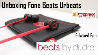 ALIEXPRESS #7 Unboxing Fone Beats urBeats Edward Fan