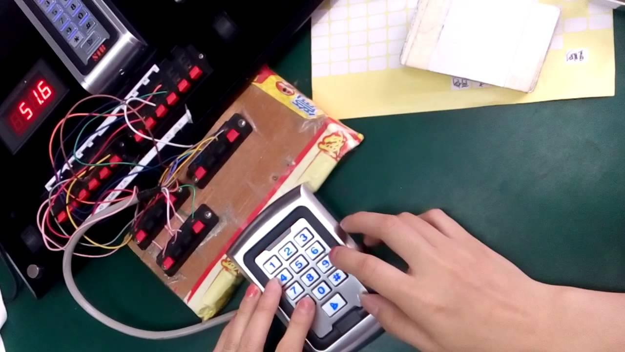 SIB S500 Standalone Single door Access Controller keypad