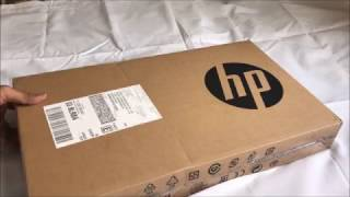 HP 15-AY009TX Laptop Unboxing