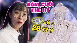 What's in wedding menu of Xemesis - Xoai Non? Misthy see  a $1.5 million wedding dress