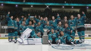 NHL 14 - San Jose Sharks Stanley Cup Championship Celebration