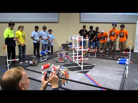 FTC World Record High Score - API 21 - 4251 Cougar Robotics & 5096 Monkey Madness vs 3781 & 26
