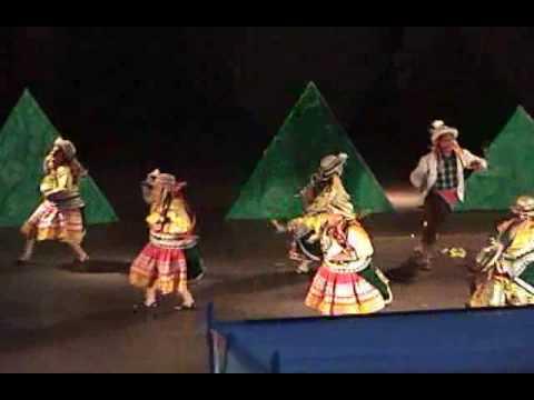 Sara Llankay Danza Apurímac (Colegio San Basilio - Mayorazgo)