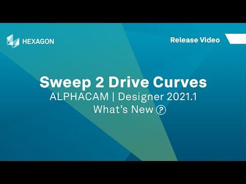 Swept Surface | ALPHACAM Designer 2021.1