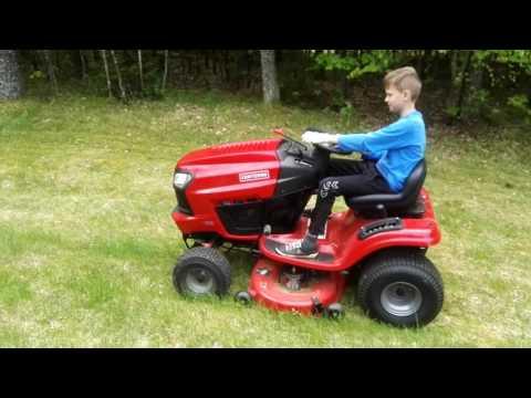 CRAFTSMAN 25081 (serija T2200) sodo traktoriukas