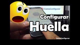 Cómo configurar Sensor de Huella Dactilar Samsung Galaxy S6
