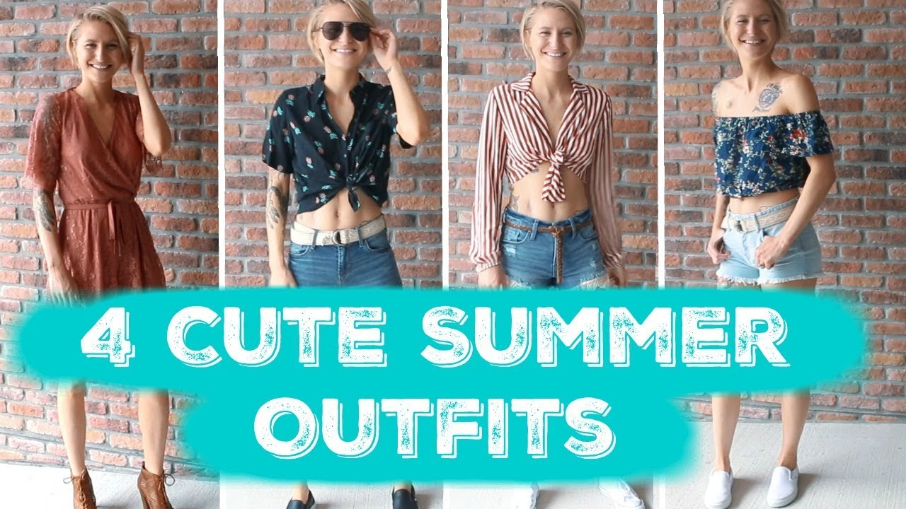 4 Affordable Summer Outfits | Summer Lookbook