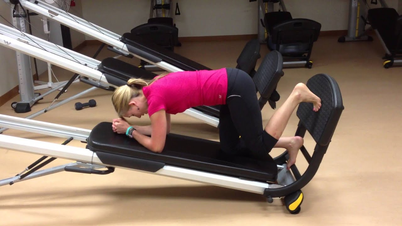 Part strengthen your feet and ankles with total gym
