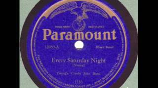 "Young's Creole Jazz Band - ""Every Saturday Night"" - 1923 Milwaukee Jazz"