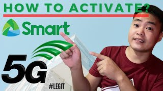 How to Activate 5G Smart Sim C…