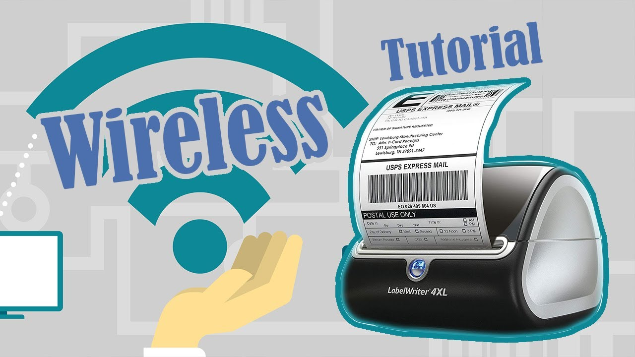 How to Setup Dymo 4XL WIRELESS Printing on a Mac Using Your Router Printer  Server