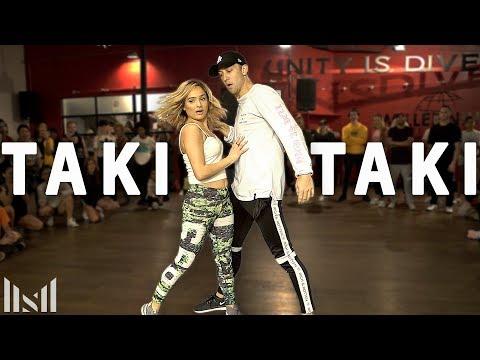 TAKI TAKI - DJ Snake Cardi B Ozuna & Selena Gomez Dance  Matt Steffanina & Chachi