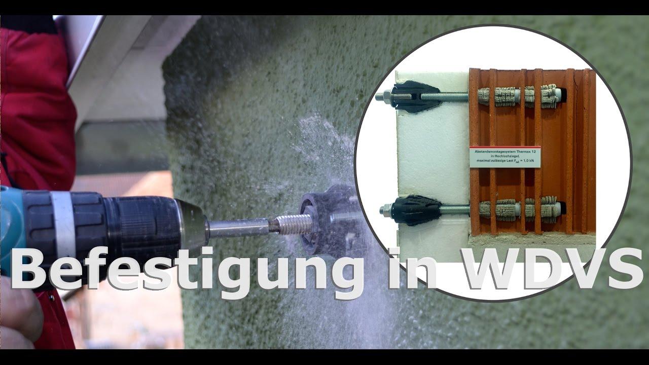 befestigung in w rmed mmverbund system wdvs f r sonnensegel pina design youtube. Black Bedroom Furniture Sets. Home Design Ideas