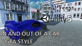 Unity 5 & Unity 2017 Mini Tutorial - How To Get In & Out A Car Like GTA