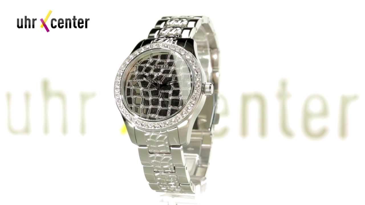 buy popular 6260d 1c41c Guess Uhren W0236L1 Croco Glam Damenuhr