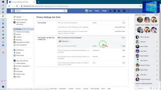 Facebook-how to make facebook completely private and Public