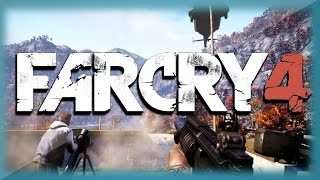 "Far Cry 4 Funny Moments - Elephant Kills, Gold Guns, and Hunting! ""Far Cry 4"" PS4 Gameplay"