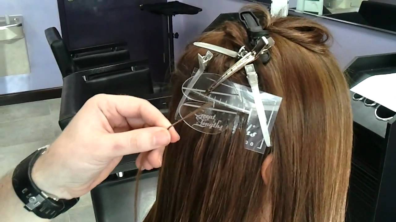 Ultra Sonic Strand By Strand Hair Extensions Youtube