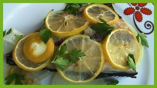 Fırında Fileto Balık Tarifi