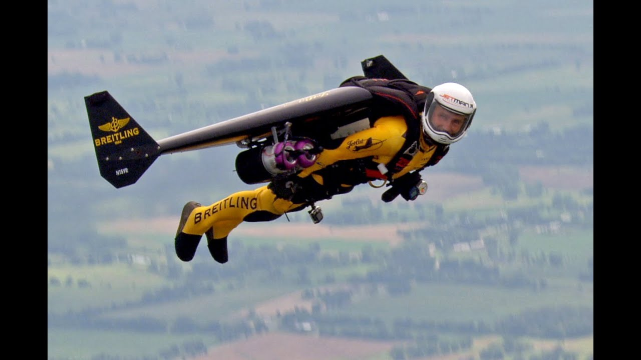 Flying with Jetman - YouTube