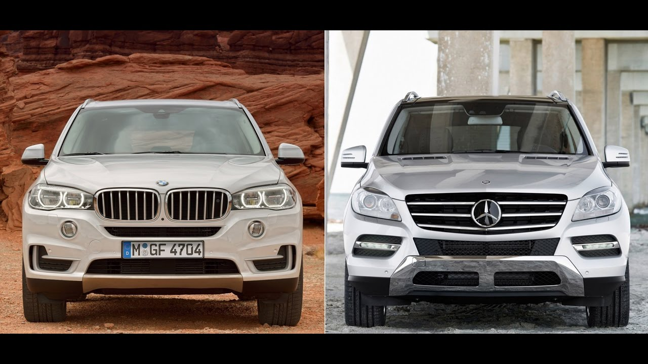 Mercedes ML vs BMW X5