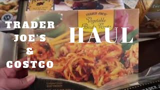 COSTCO & TRADER JOE'S HAUL | NEW FOOD | OCTOBER 2018