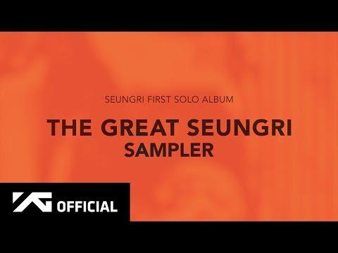 SEUNGRI - 'THE GREAT SEUNGRI' SAMPLER