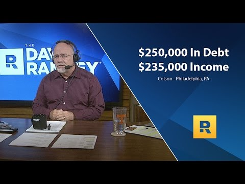 $250,000 In Debt With A $235,000 Income