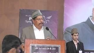 Kannada Speech on Islam the Religion of PEACE @ Peace Symposium Bangalore 2013