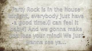 Party Rock Anthem Clean (With Lyrics)