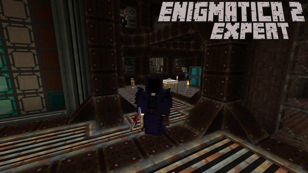 Fission Reactor and RF Mainframe Part 3 : Enigmatica 2 Expert Lp Ep #52  Minecraft 1 12