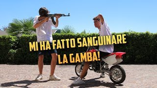 MINIMOTO VS AK 47 DA SOFTAIR! [SPECIALE 200K]