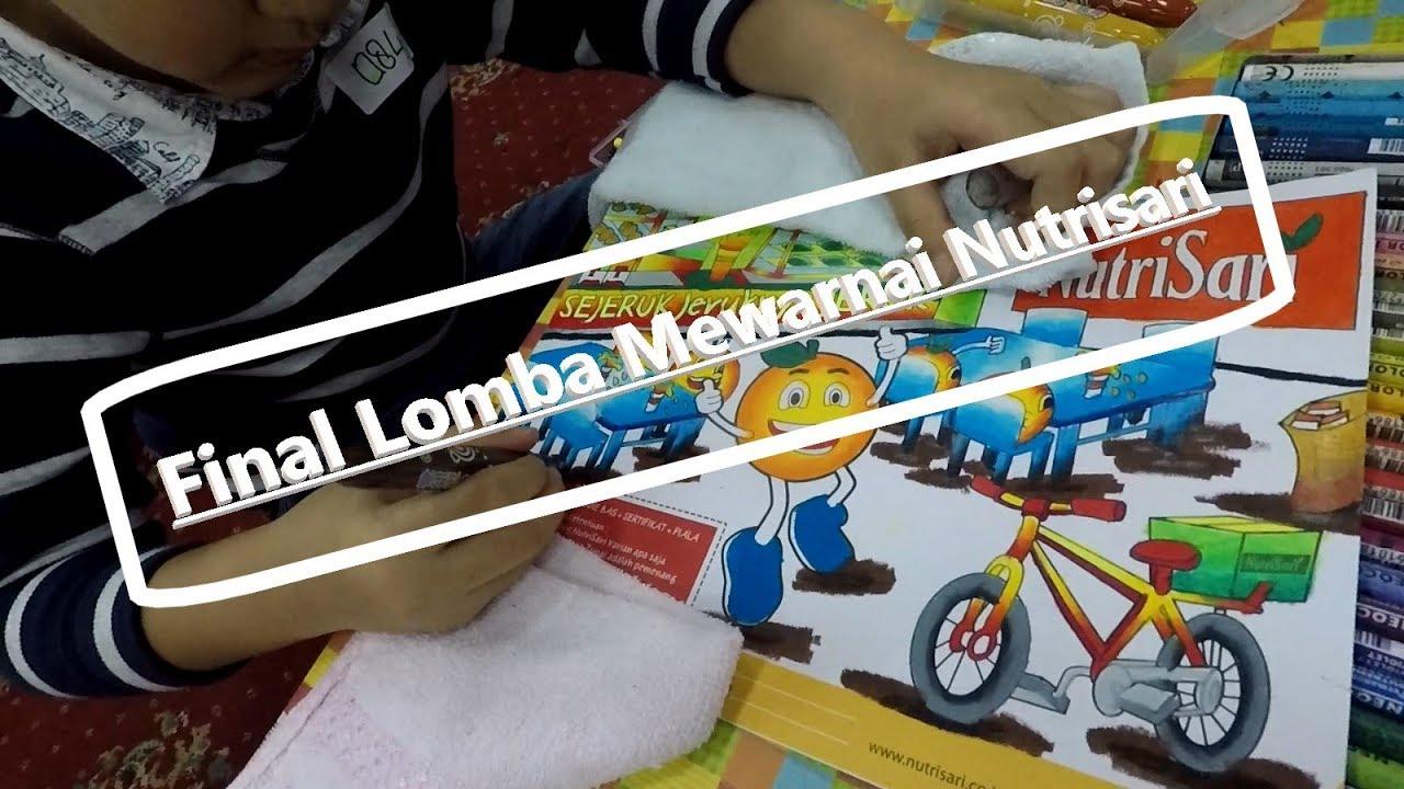 Final Lomba Mewarnai Nutrikidz Festival Nutrisari Lampung 2017 Youtube