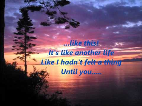 Rascal Flatts- Nothing Like This [Lyrics on Screen]