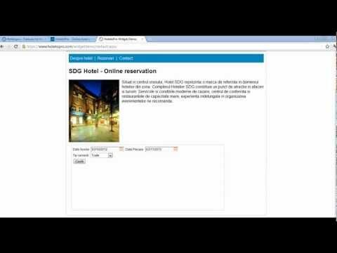 HoteloPro Booking Software - Booking Widget