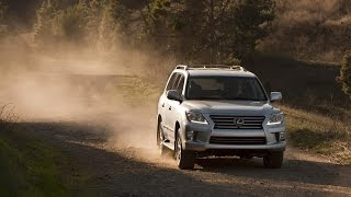 2015 Lexus LX 570 Extreme Off Road Race and Test Drive