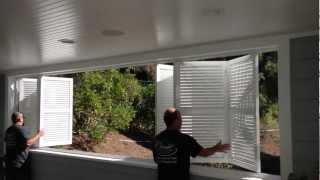Bi-folding Exterior Aluminum Shutters