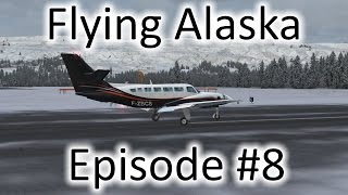 FSX | Flying Alaska Ep. #8 - Pilot Station to Homer | Cessna F406