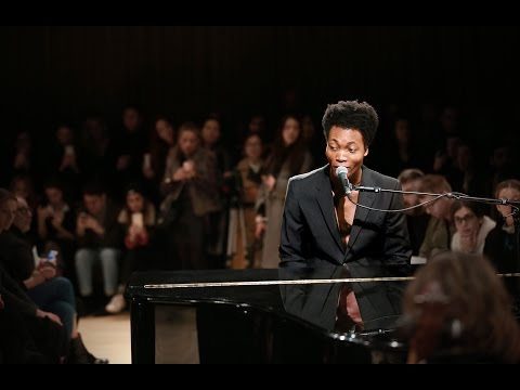Benjamin Clementine live at the Burberry Menswear January 2016 show