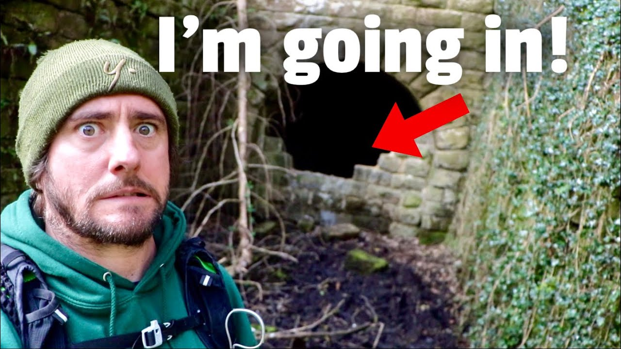 I Found an ABANDONED Tunnel in the Forest