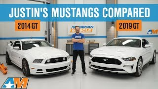 Justin Compares His 2019 Mustang GT to his 2014 Supercharged S197 Mustang GT | New Vs. Old