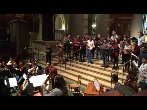 Manhattan School of Music: Chamber Choir & Chamber Orchestra at the Cathedral of St. John the Divine