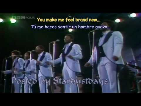 THE STYLISTICS - YOU MAKE ME FEEL BRAND NEW  Subtitulos Español & Inglés