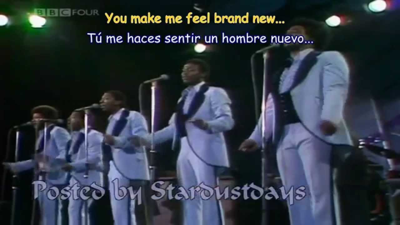 The Stylistics - You Make Me Feel Brand New Subtitulos -9212