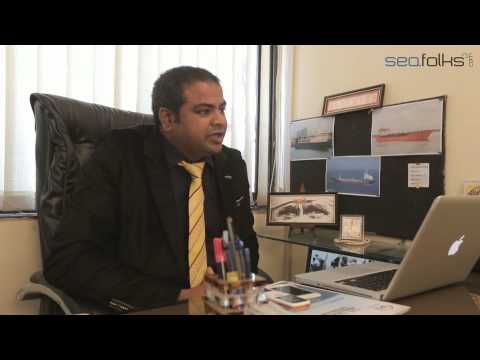 Interview session with Capt Ashish Shukla