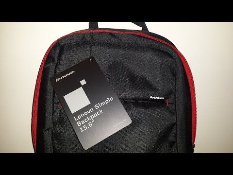 1709bed36236 LENOVO SIMPLE BACKPACK 15.6