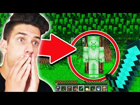 GREEN STEVE FOUND IN MINECRAFT!