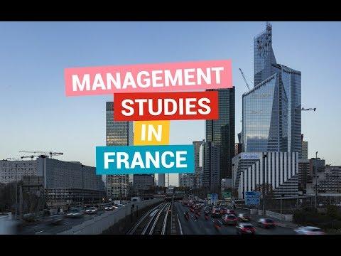 Management Studies In France