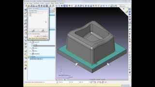 worknc cad cam 5 axis toolpath creation