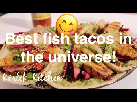How To Make Seared-Tuna Tacos! - Cooking With Chef Ania